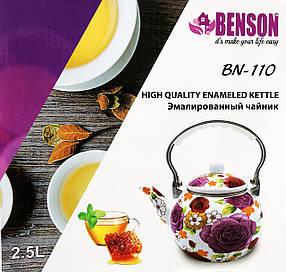 Эмалированный чайник Benson BN-110