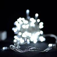Гирлянда 100LED (ЧП) 9м Белый (RD-7128), Новогоднее освещение, Светодиодная гирлянда, Новогодняя гирлянда