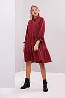 Платье с рюшами 40, 42,44 размеры