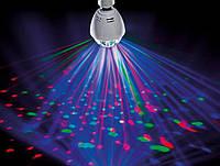Диско лампа (RD-7209), Светодиодная лампа со светомузыкой, Ламочка диско для вечеринок, Лампа для дискотеки, фото 1