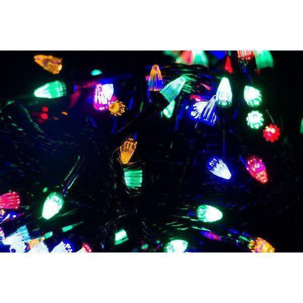 Гирлянда зерно 200LED 15м Микс (RD-7166), Новогодняя светодиодная гирлянда, Длинная гирлянда разноцветная