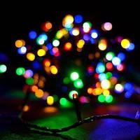 Линза 100LED 9м Микс (RD-7159), Электрическая гирлянда, Разноцветная светодиодная гирлянда,Гирлянда новогодняя