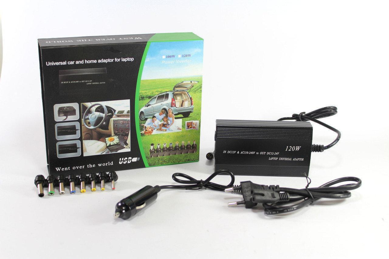 Адаптер для laptop 901 (12 v 220v), Универсальное зарядное устройство для ноутбуков, Блок питания для ноутбука