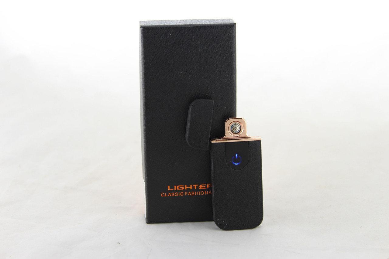 Зажигалка спиральная USB ZGP 5, Юсб зажигалка, Электрическая зажигалка, Спиральная зажигалка на подарок