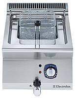 Фритюрница электрическая верхнего расположения, 7 л одна ванна, наружный  нагревательный элемент , 1 корзина