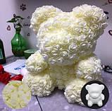 Набор розовых цветочков для декора - 48-50шт. (размер одного цветка 2см), фото 2