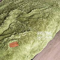 Покрывало травка   Плед травка. Blumarine - густой, длинный ворс. Полуторный 160*220 см. Цвет - Фисташковый
