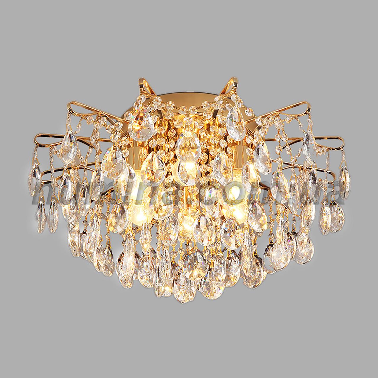 Люстра потолочная хрустальная на шесть ламп 3-E1561/6 D550