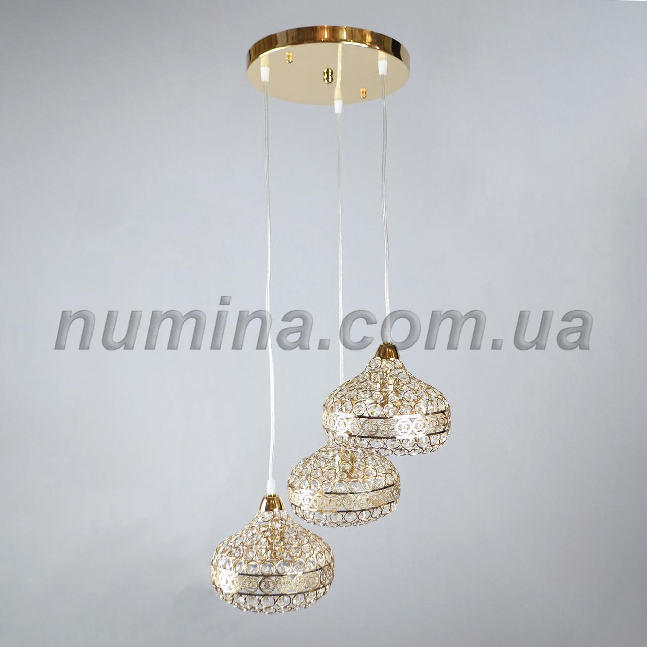 Люстра підвісна на три лампи 3-E1536/3H FG