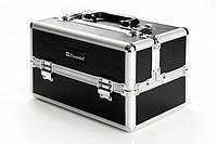 Кейс для косметики черный Makeup Train Case (Black) BH Cosmetics Оригинал