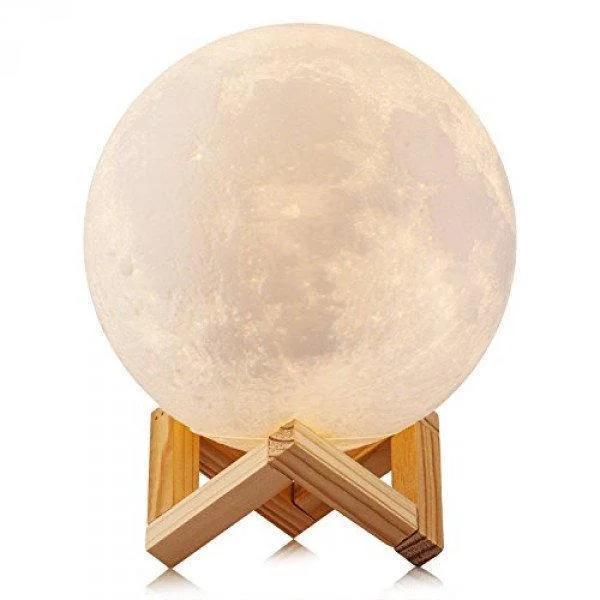 Ночник Луна Moon lamp 13 см, Светильник ночник Луна, Лунный светильник, Декоративный светильник шар