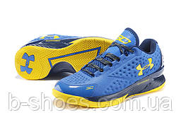 Мужские кроссовки UNDER ARMOUR CHARGED FOAM CURRY 1 Low (Blue/Yellow)