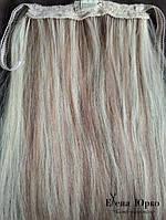 Из натуральных волос: хвост, шиньон, шиньен, трес, тресс под заказ
