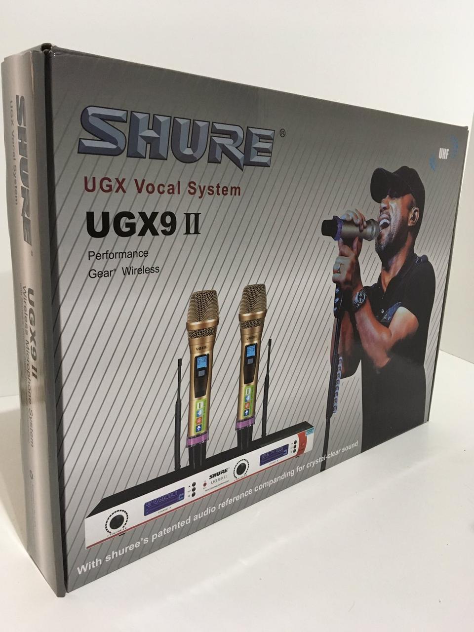 Мікрофон DM UGX 9 II Shure (5 шт/ящ)