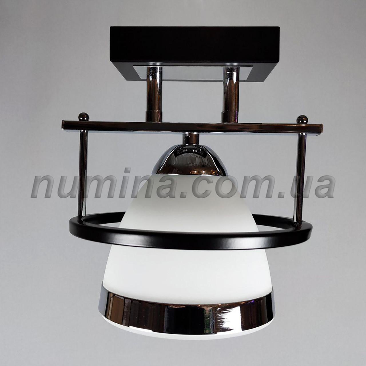 Люстра на одну лампу 1-37610/1C CR+MK