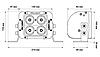 """Светодиодная балка ProLight DUAL 5"""" 40Вт (направленный луч), фото 9"""