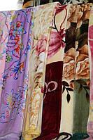 Акриловое плед-одеяло Евро стандарта с цветами