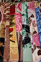 Акриловое плед-одеяло Евро стандарта цветы, панды