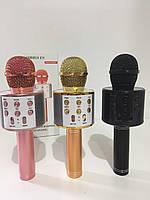 Радиомикрофон+ караоке в каробке MOD-858-1 (40 шт/ящ)