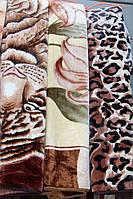 Акриловое плед-одеяло Евро стандарта разные цветочки