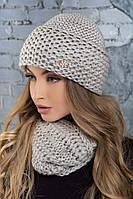 """Женская шапка """"Изабела"""", фото 1"""