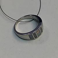 Огненный опал кольцо с опалом в серебре 19,5-20 размер в кредит 0%