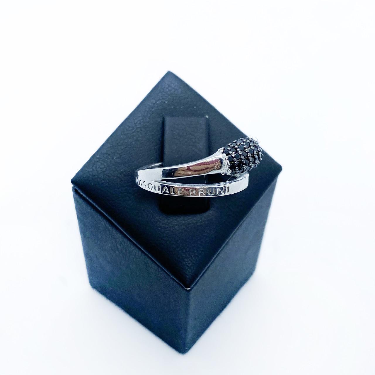 Кольцо из серебра 925  Beauty Bar в стиле Pascale Bruni  (размер 17 - 18 мм)