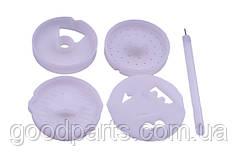 Комплект насадок для макаронных изделий для мясорубки NR5 Zelmer 86.2720 12001096