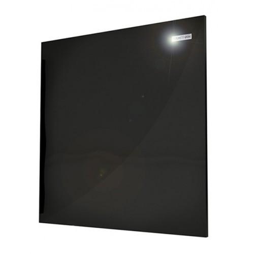 Керамический обогреватель Камин 600 мм  х 600 мм  х 12 мм, 475 Вт, черный глянец