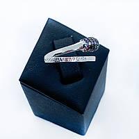 Кільце з срібла 925 Beauty Bar в стилі Pascale Bruni кольорові камені (розмір 17 - 18,5 мм), фото 1