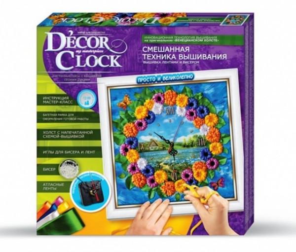 """Набор для творчества """"Decor Clock"""" """"Маргаритки"""" 4298-01-02DT, развивающая игрушка, подарок ребенку"""