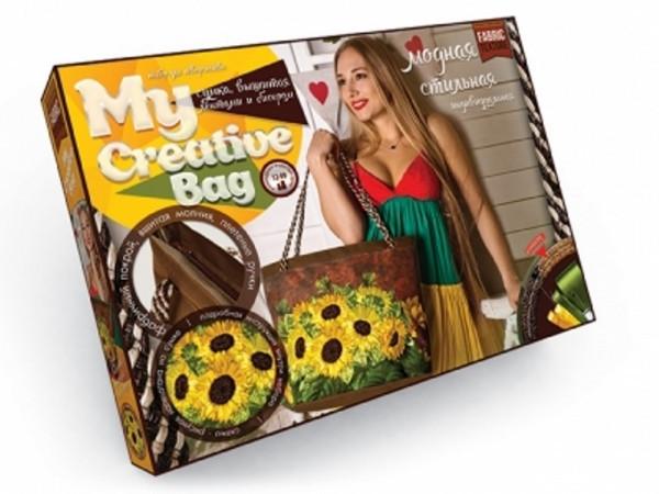 """Набор для творчества """"My Creative Bag"""" ПОДСОЛНУХИ 5389-03DT, развивающая игрушка, подарок ребенку"""