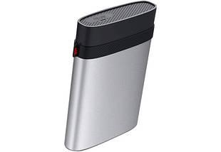 "Внешний жесткий диск 4 Тб Silicon Power Armor A85, Silver/Black, 2.5"", USB 3.1 (SP040TBPHDA85S3S), фото 2"