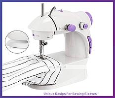 Міні швейна машинка 4 в 1 Mini Sewing Machine