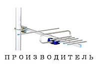 Антенна ТВ Signal T2 0,5 F коннектор с усилителем