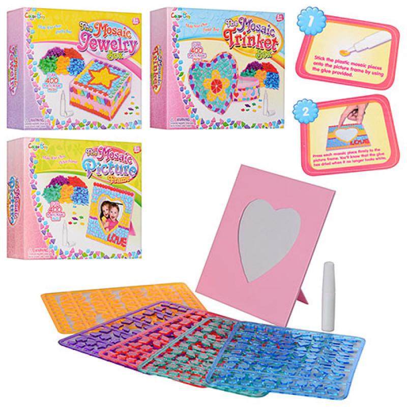 Набір для творчості MK0441 мозаїка, розвиваюча іграшка, подарунок дитині