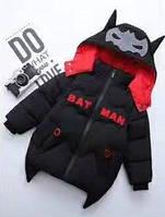 Зимняя куртка-пуховик для мальчика BATMAN 1-2 года