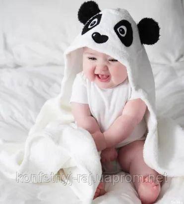 Махровые полотенца с капюшоном Hudson baby