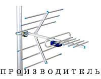 ТВ-антенна ENERGY Flagman T2 0,5 F коннектор с усилителем