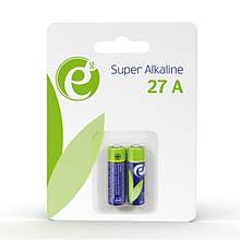 Батарейка EnerGenie Super Alkaline A27 BL 2 шт