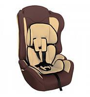 Детское автокресло ZLATEK Atlantic Lux коричневый 1-12лет 9-36кг категория 1-2-3