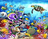 Картина по номерам Черепаховый рай 40 х 50 см (с коробкой), фото 1