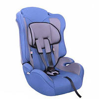 Детское автокресло ZLATEK Atlantic Lux синий 1-12лет 9-36кг категория 1-2-3