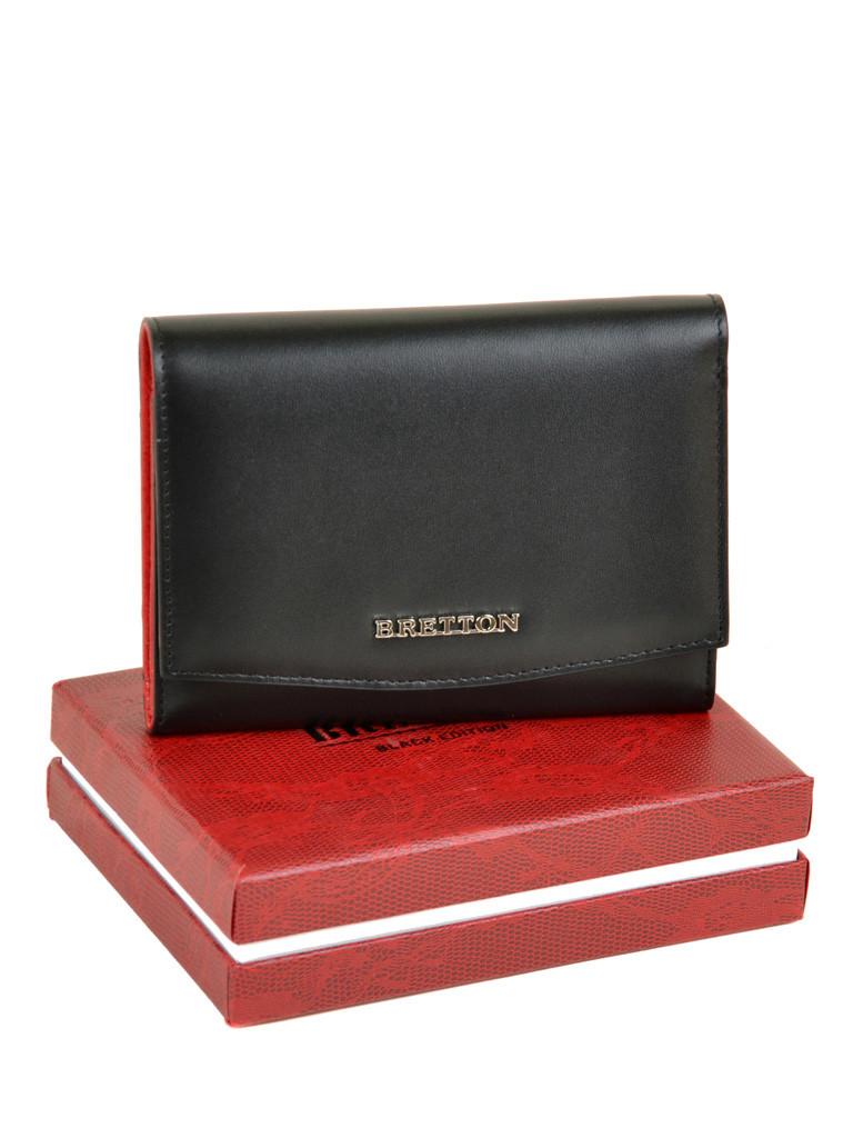 PODIUM Кошелек Color женский кожаный BRETTON W5458 black Распродажа