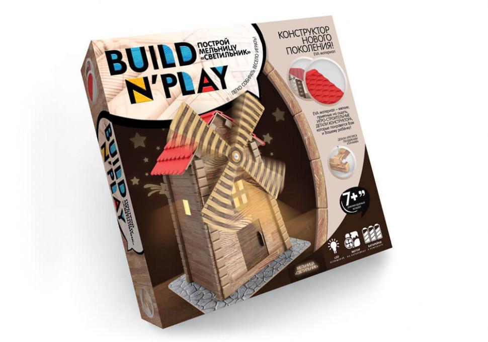 """Конструктор """"BUILDNPLAY"""" МЕЛЬНИЦА 7653DT, развивающая игрушка, подарок ребенку"""