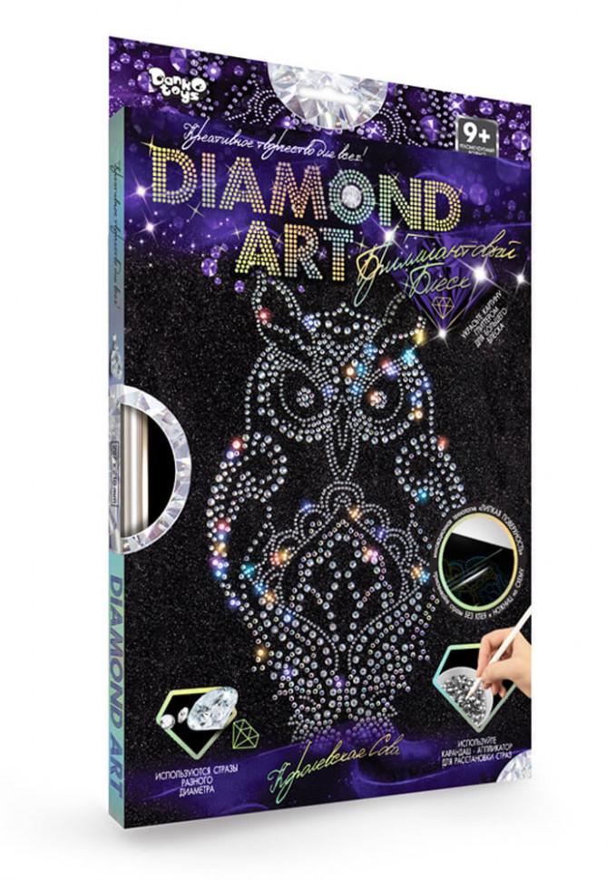 "Комплект креативного творчества ""DIAMOND ART"" 6866DT, развивающая игрушка, подарок ребенку"