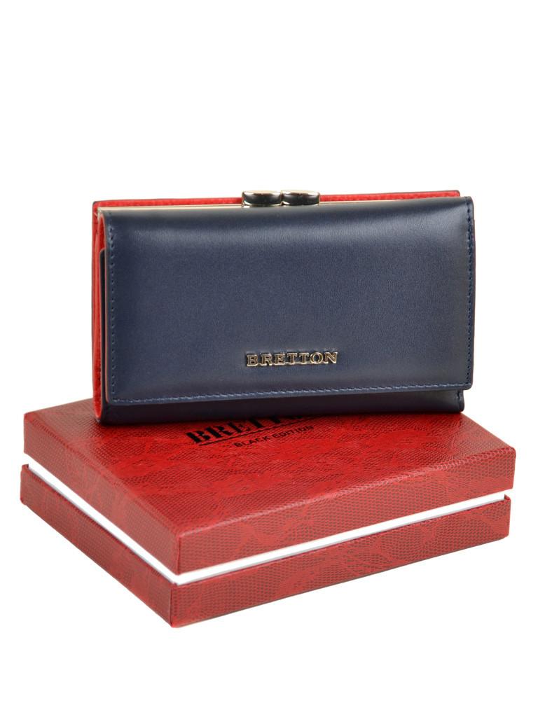 PODIUM Кошелек Color женский кожаный BRETTON W5520 navi Распродажа