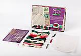 "Комплект креативного творчества ""Шкатулка Embroidery Box"" 6592DT, развивающая игрушка, подарок ребенку, фото 5"