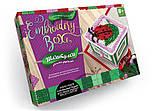 "Комплект креативного творчества ""Шкатулка Embroidery Box"" 6592DT, развивающая игрушка, подарок ребенку, фото 6"