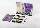 "Комплект креативного творчества ""Шкатулка Embroidery Box"" 6592DT, развивающая игрушка, подарок ребенку, фото 7"